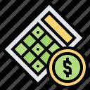 bingo, casino, gambling, game, lottery icon