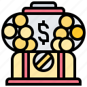 box, gambling, game, lottery, toy icon