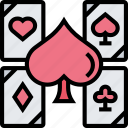 spades, ace, cards, poker, game