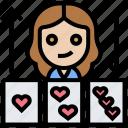 card, counting, hearts, poker, gambler