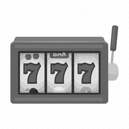 casino, gamble, jackpot, machine, robot, seven, slot icon