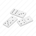 casino, domino, dominoes, gambling, game, play icon