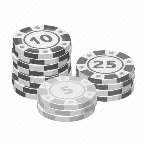 bet, casino, chip, finance, gambling, money, roulette icon