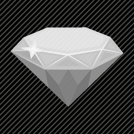 accessory, crystal, diamond, jewel, jewelry, precious icon