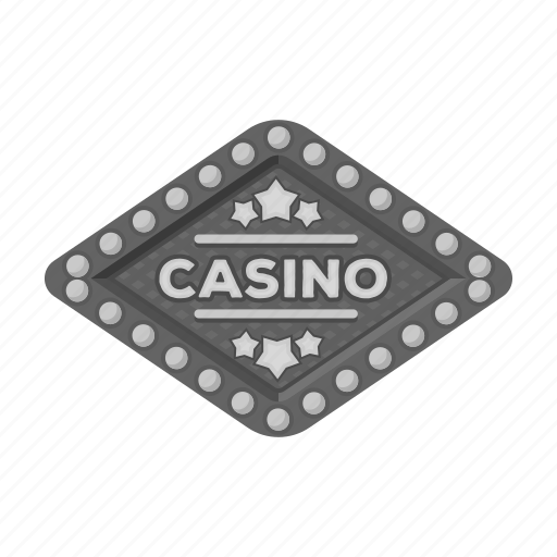 card, casino, entrance, gambling, poker, roulette, signboard icon