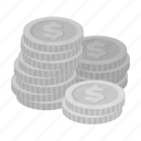 cash, casino, chip, finance, gambling, money, winnings icon
