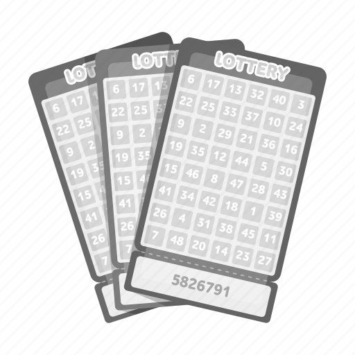 card, casino, gambling, game, lottery, number, winnings icon