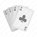 card, casino, deck, gambling, poker icon