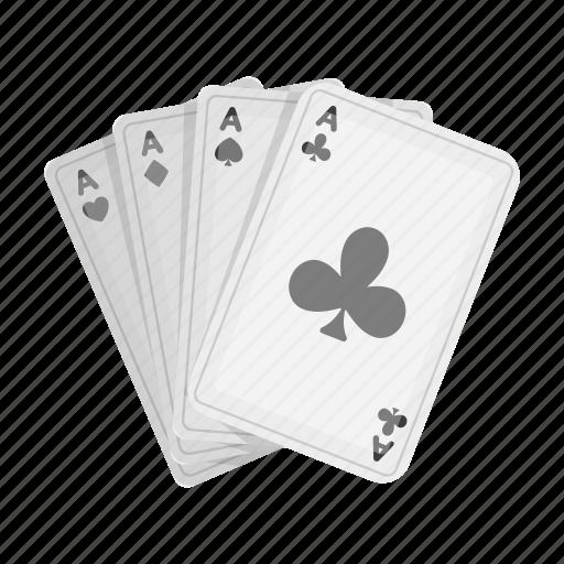 card, casino, deck, gambling, poker icon
