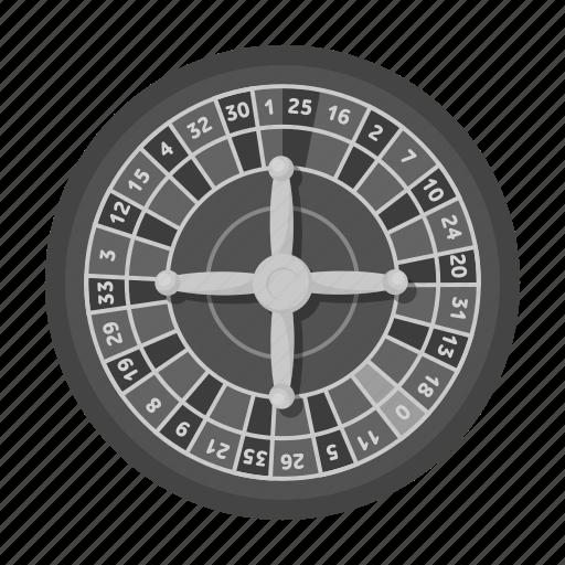 ball, casino, gambling, game, roulette, winnings icon