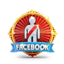 prize, medal, casino, person, facebook, badge