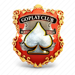 badge, casino, gold, prize, shield icon