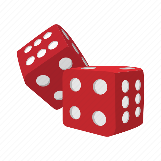 cartoon, casino, cube, dice, gamble, game, play icon
