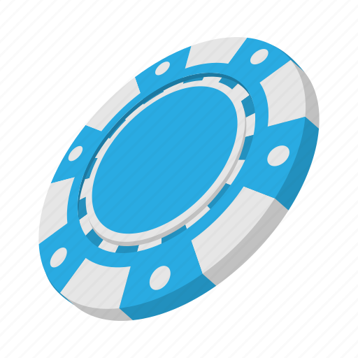 cartoon, casino, chip, gambling, game, leisure, poker icon