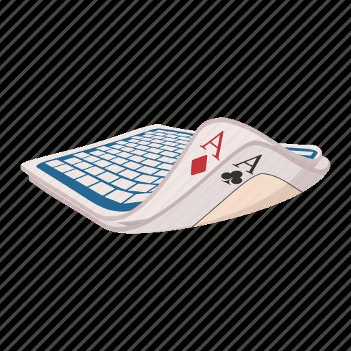 ace, card, cartoon, club, game, heart, magic icon