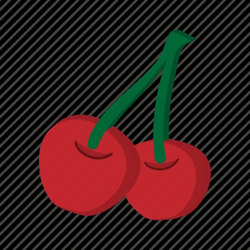 berry, cartoon, cherry, food, fruit, ripe, sweet icon