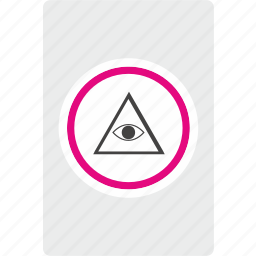 card, casino, gamble, illuminati icon