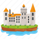 castle, fortress, historical place, kingdom castle, medieval castle