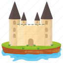 castle, castle building, fort, kingdom castle, medieval castle