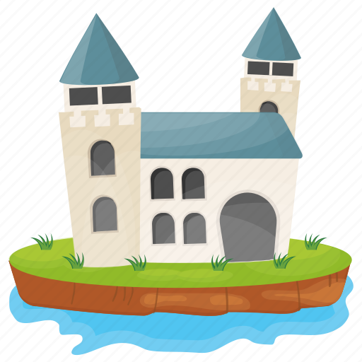 castle, fortress, historical place, kingdom castle, medieval castle icon