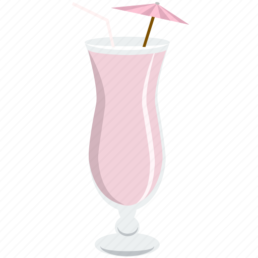alcohol, beverage, cocktail, drink, glass, shake, umbrella icon