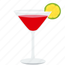 alcohol, beverage, cocktail, drink, glass, lime, shake