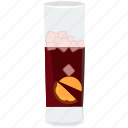 alcohol, beverage, cocktail, drink, glass, ice, shake icon