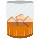 alcohol, beverage, brandy, cognac, drink, glass icon
