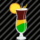alcohol, beverage, cocktail, drink, glass, lemon, shake