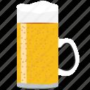alcohol, beer, beverage, drink, glass, mug