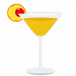 alcohol, beverage, cherry, cocktail, drink, glass, shake icon