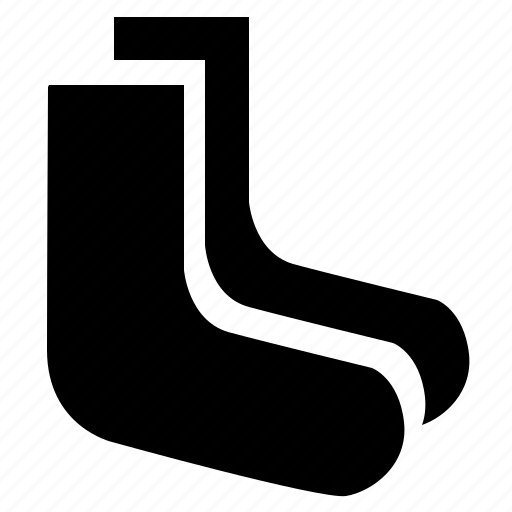 cotton, foot, footwear, man, socks icon