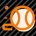 ball, cat toys, line icon icon