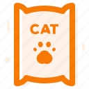 cat food, food, line icon icon