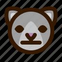 animal, avatar, cat, emoji, emoticon, face, neutral
