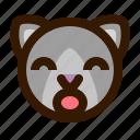 animal, avatar, cat, emoji, emoticon, face, surprised