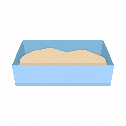 animal, care, cat, home, pet, sand, tray icon