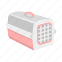 animal, carrying, container, pet, transportation icon
