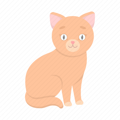 animal, cat, pet, zoo icon