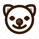 animal, avatar, cat, clown, emoji, emoticon, face icon
