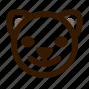 animal, avatar, cat, emoji, emoticon, face, happy
