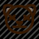 animal, avatar, cat, emoji, emoticon, face, lifeless