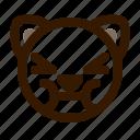 animal, avatar, cat, emoji, emoticon, face, sick icon