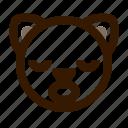 animal, avatar, cat, emoji, emoticon, face, sleep