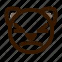 animal, avatar, cat, emoji, emoticon, face, stunned icon