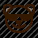 animal, avatar, cat, emoji, emoticon, face, sunglasses