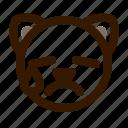 animal, avatar, cat, emoji, emoticon, face, tear