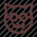 cartoon, cat, character, kitten, kitty, paw, pet
