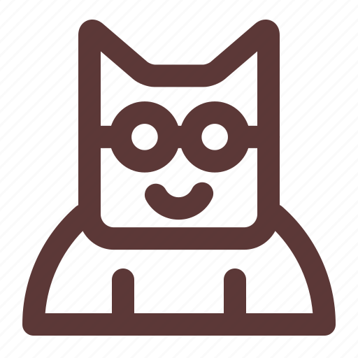 Cartoon, cat, character, kitten, kitty, paw, pet icon - Download on Iconfinder