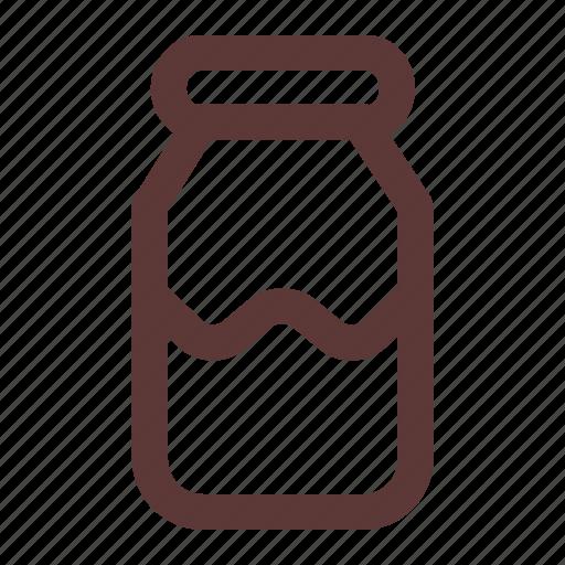 Beverage, bottle, cow, drink, glass, milk, package icon - Download on Iconfinder